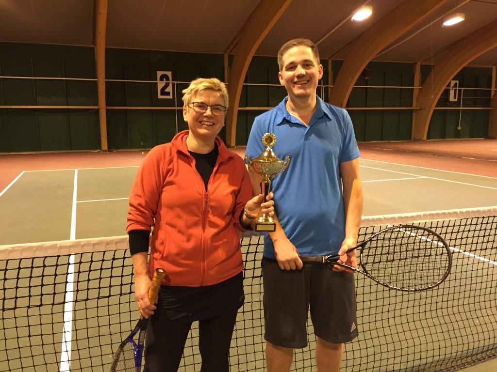 Vinnerne av Ås tennisklubbs ribbeturnering 2016